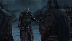 Leandros rozkazujący swoim żołnierzom by DarknessEyes23