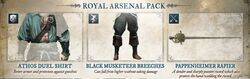 Royal Arsenal Pack