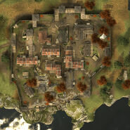 Vue aérienne Fort St-Mathieu