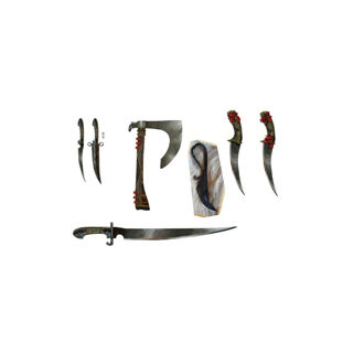 The Trickster's weapons