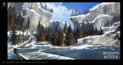 ACRG Snow Environment 2 - Concept Art