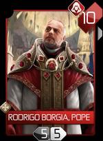 ACR Rodrigo Borgia, Pope