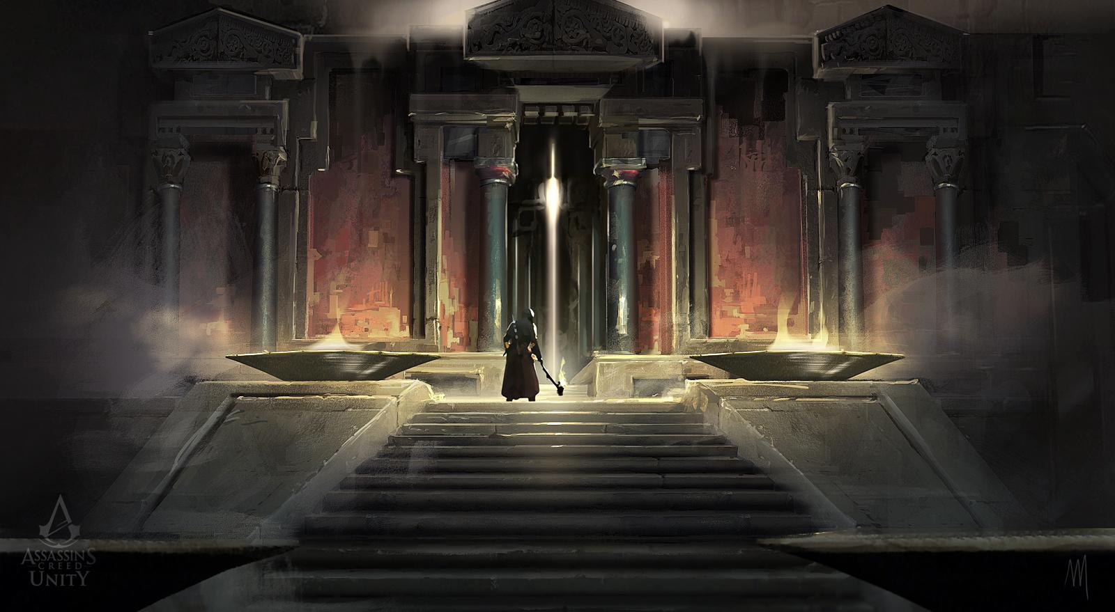 Image - ACU DK Saint Denis Temple Door 02 - Concept Art.jpg ...