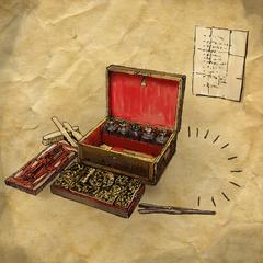 La table d'accessoires