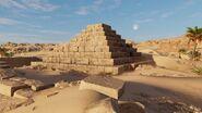 AC Origins Bent Pyramid Satellite