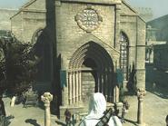 Altair devant Église Saint-Anne
