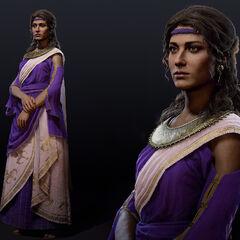 阿斯帕西娅的人物模型