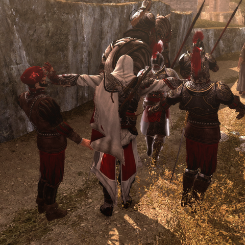 埃齐奥刺杀两名护卫