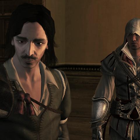 Antonio demandant l'aide d'Ezio
