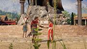 ACOD Kassandra and Myrrine share Leonidas's memory
