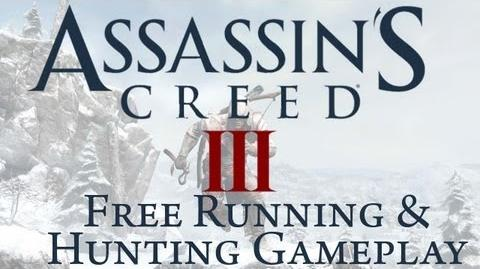 Assassin's Creed 3 - Free Running and Hunting Gameplay