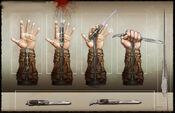 Connor Hidden blades by Okmer