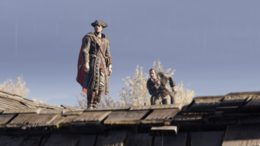Haytham i Charles Lee na dachu (by Kubar906)