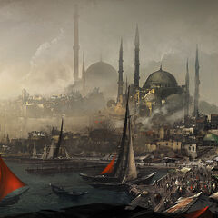 君士坦丁堡港口