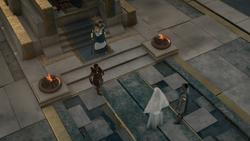 ACOD FoA JoA The Fate of Atlantis - Kassandra demanding answers