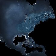 ACRO Amérique du Nord Carte