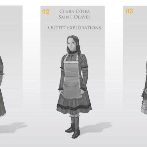 Différents concepts de <b>Clara</b>