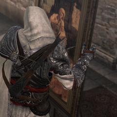 Ezio marquant <i>Saint-Jérôme</i>