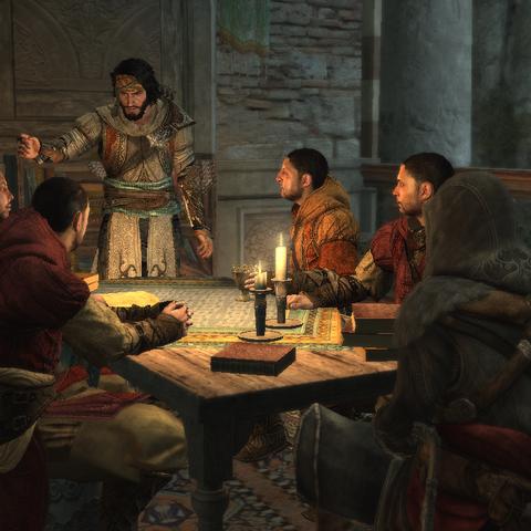 La <b>Confrérie des Assassins</b> à Constantinople