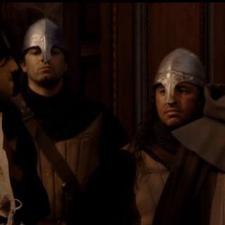 Federico wordt bedreigt door Antonio en zijn mannen.
