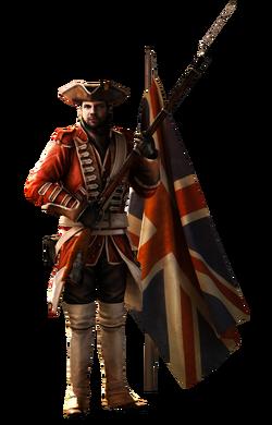 ACIII-Britse soldaat-render