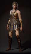 ACOD Kassandra Amazon Outfit render