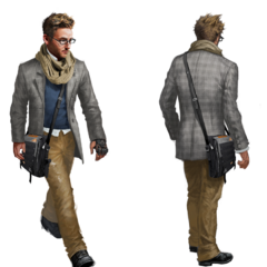 Concept-art de Shaun pour <i>Assassin's Creed: Syndicate</i>