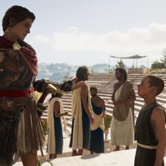 柏拉图与卡珊德拉谈话