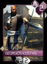 ACR Georgios KostasCard