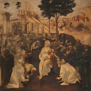 Adoration of the Magi - By Leonardo