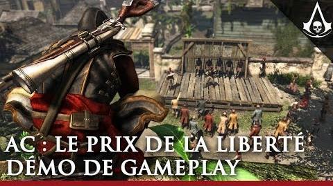Assassin's Creed Le Prix de la Liberté - Démo de gameplay commentée FR