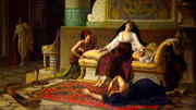 Louis-Marie Baader - Death of Cleopatra
