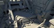 ACOD Petrified Temple Concept Model 1
