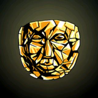 古代面具 - 这神秘的面具是在活人头颅上铸模的吗?