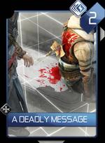 ACR A Deadly Message