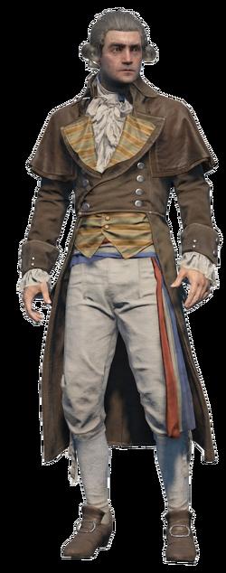 ACU - Maximilien de Robespierre render