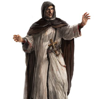 Early concept art of Savonarola