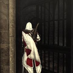 Ezio regagnant Rome par les souterrains