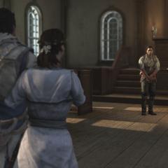 康纳代替她的父亲将米莉安托付给诺里斯