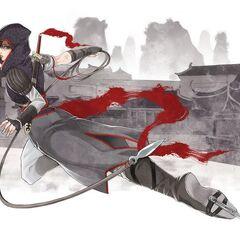 《刺客信条:中国》漫画中的邵君