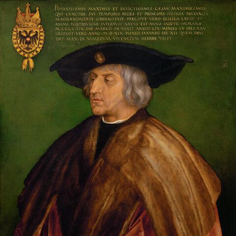 Maximilian I, Holy Roman Emperor<br />(1459 – 1519)