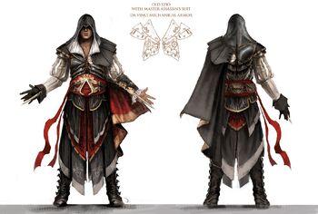 Altair's Rüstung Artwork