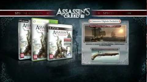 Assassin's Creed 3 - Special Edition Unboxing Video IT