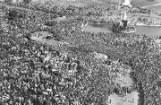 Gandhi Funeral procession