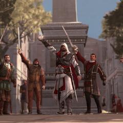 巴尔托洛梅奥和其他刺客共同对抗切萨雷