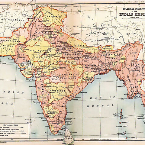 L'<b>Inde</b> durant sa domination par l'<a class=