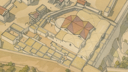 DTAE Hadrian's Baths - Jean Claude Golvin