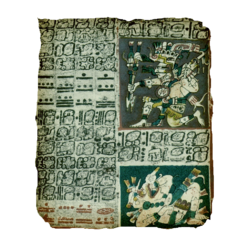 ACIV Codex maya de Dresde