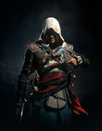ACIV Edward Kenway Pistolet Wallpaper