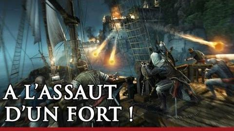 A l'assaut d'un fort ! Démo de gameplay Assassin's Creed 4 Black Flag FR - OFFICIEL